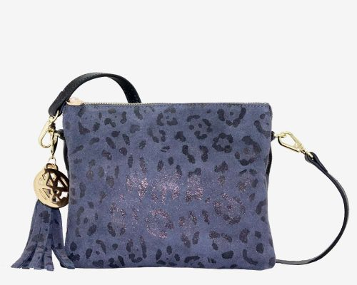 Willow & Zac Tara charcoal leopard