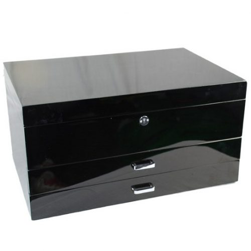 Wj22 Black jewellery box