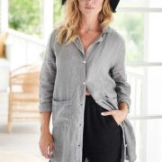 Eadie The Essential Linen Shirt