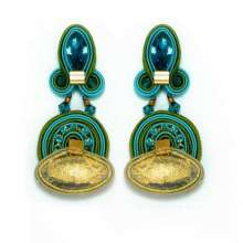Dori Csengeri Elixir Long Clip Earrings e453