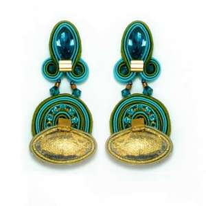 Dori Csengeri Elixir Long Clip Earrings e453