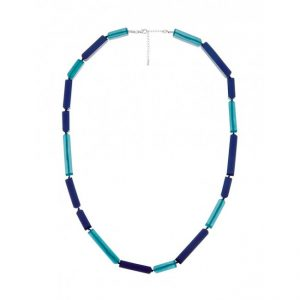 fb050nl-blu florence broadhurst essential resin necklace