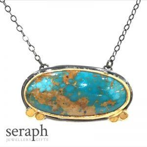 Iranian Turquoise necklace