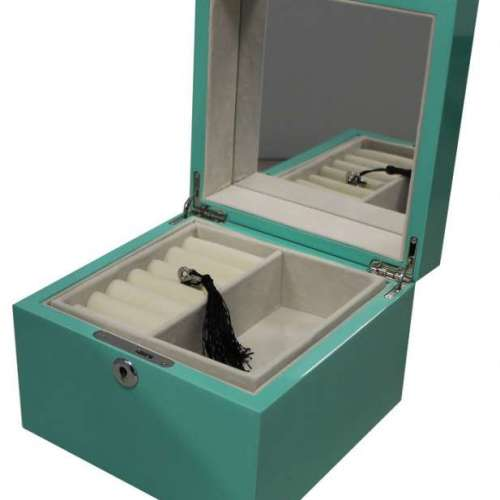 WJ35 Jewellery Box Aqua