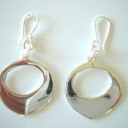 Ironclay Fat Teardrop Earring