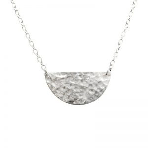 Murkani Moon and Back necklace Sterling Silver